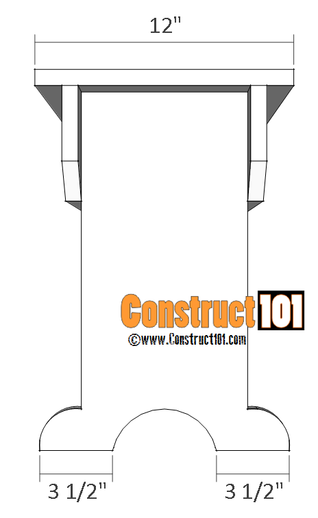 Outdoor / Indoor Bench Plans - Construct101