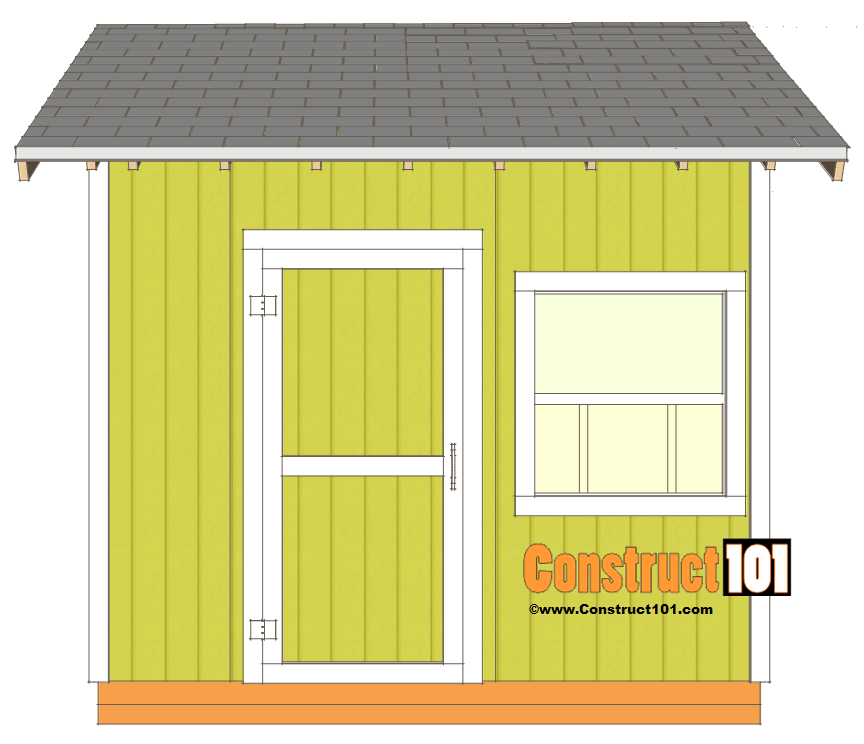 shed plans 10x10 gable shed shingles and trim