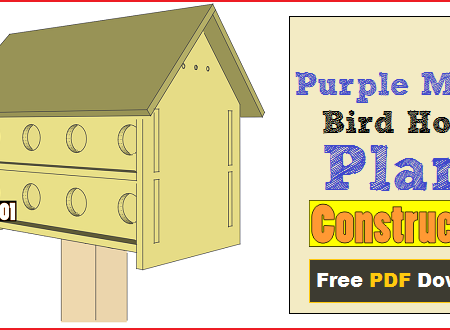 purple martin bird house plans