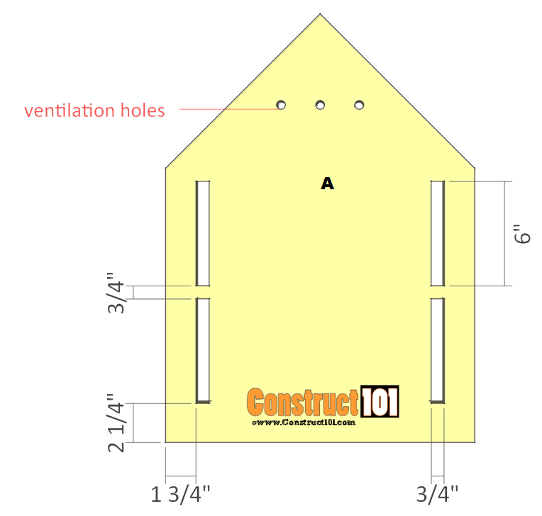 purple martin bird house plans step 2
