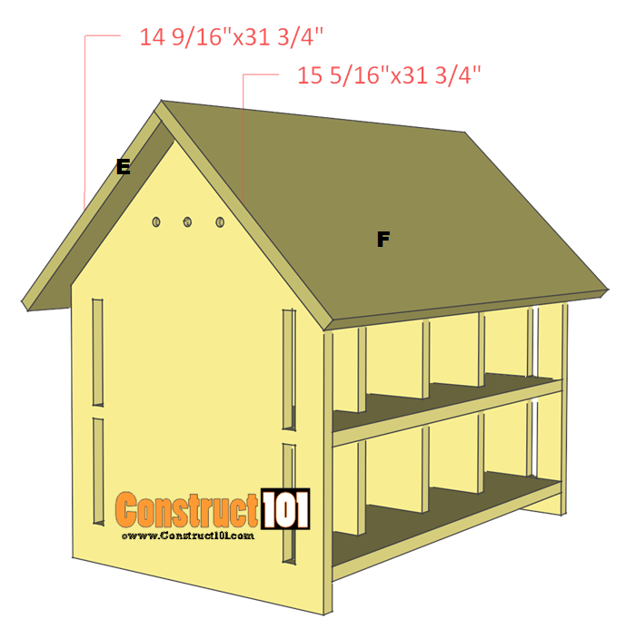 Purple martin bird house plans 16 unit construct101 for Martin house designs