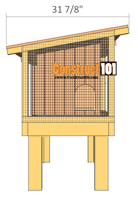 Rabbit Hutch Plans - Step-By-Step Plans - Construct101
