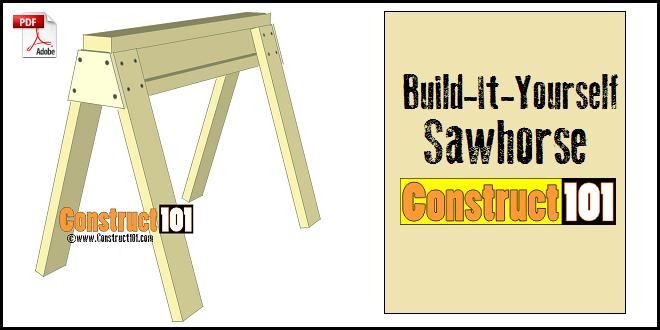 sawhorse plans