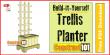 trellis planter plans - featured