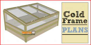 Cold frame plans, free PDF download.