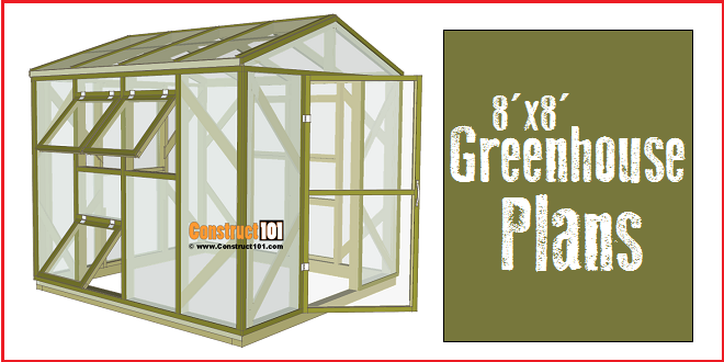 Greenhouse plans 8x8 step by step plans construct101 greenhouse plans 8x8 solutioingenieria