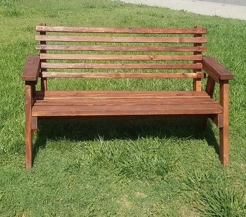 DIY 2x4 bench