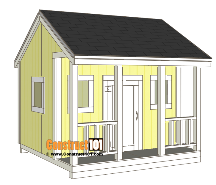 Playhouse plans - roof shingles.