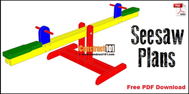 Seesaw plans free PDF download.