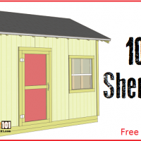 Shed plans 10x12 - free PDF download, step-by-step guide.