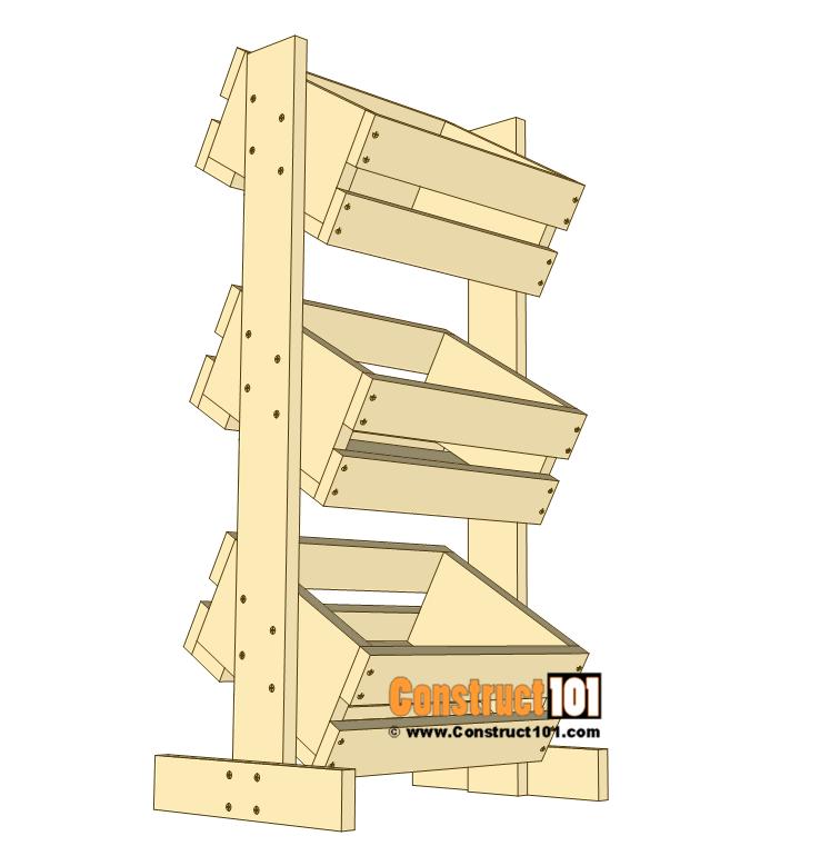 3 Tier Display Crate Plans - Step 3
