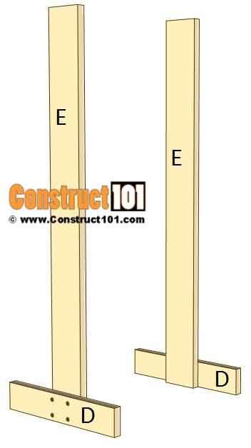 3 Tier Display Crate Plans - Step 2