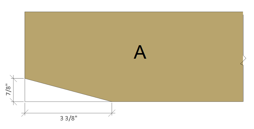 Jack and Jill seat plans, a front.