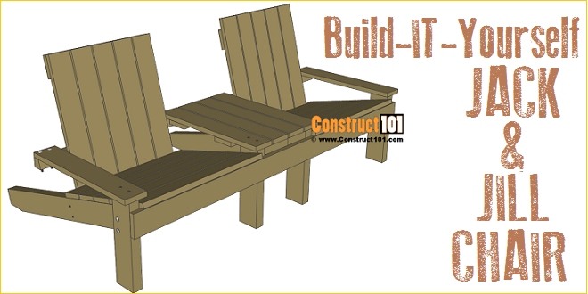 Jack And Jill Seat Plans, Includes Free PDF Download.