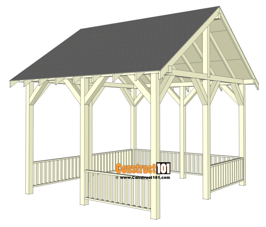 Pavilion plans 14x16