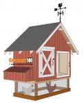 4x8 chicken coop plans