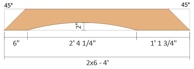 12x12 pergola plans - front and back brace.
