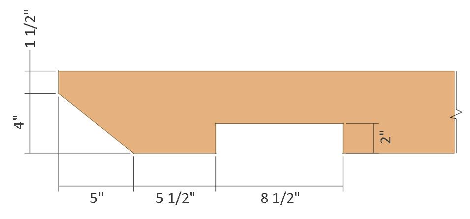 10x10 pergola plans - rafter end details.