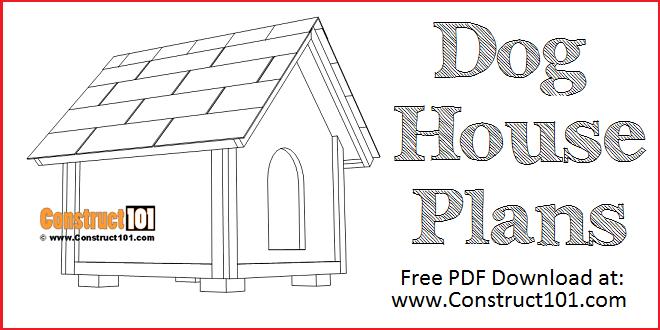 Dog House Plans 2 Ft X 2 Ft Pdf Download Construct101