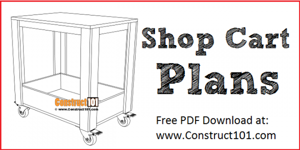Pywood Shop Cart Plans - Free PDF Download at Construct101