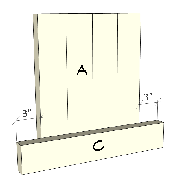 2x4 planter box plans - right and left side.