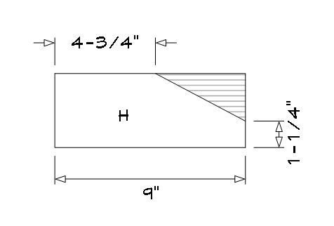 Bench part (A) armrest brace.